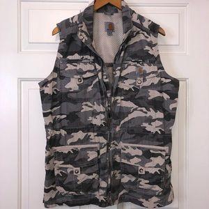 Carhartt Camo Utility Vest  X-Large